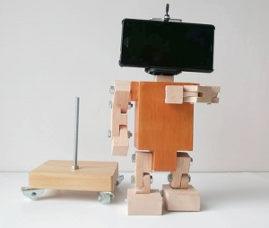 Smartphone  Holder robot